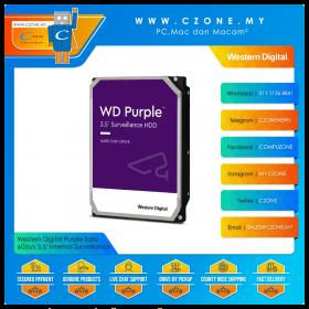 "Western Digital Purple Sata 6Gb/s 3.5"" Internal Surveillance"
