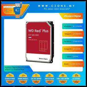 "Western Digital Red Plus Sata 6Gb/s 3.5"" Internal Nas"