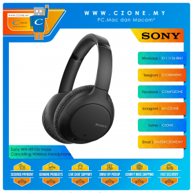 Sony WH-CH710N Noise Cancelling Over-Ear Wireless Headphones