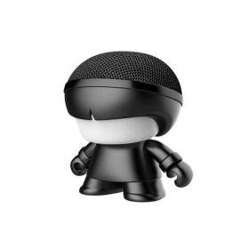 Xoopar Boy Mini Art Toy Portable Bluetooth Speaker (Black Metallic Edition)