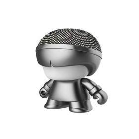 Xoopar Boy Mini Art Toy Portable Bluetooth Speaker (Grey Metallic Edition)