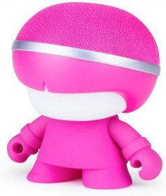 Xoopar Boy Mini Art Toy Portable Bluetooth Speaker (Pink)