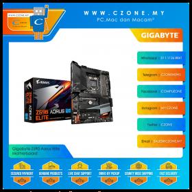 Gigabyte Z590 Aorus Elite AX Motherboard (Chipset Z590, ATX, Socket 1200)