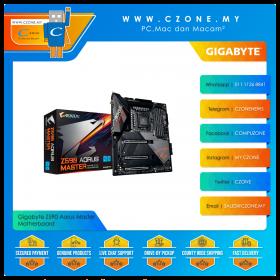 Gigabyte Z590 Aorus Master Motherboard (Chipset Z590, WiFi+BT, ATX, Socket 1200)