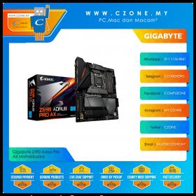 Gigabyte Z590 Aorus Pro AX Motherboard (Chipset Z590, WiFi+BT, ATX, Socket 1200)