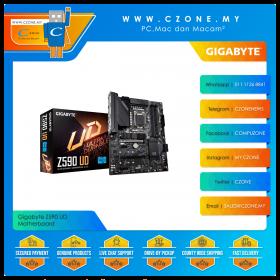 Gigabyte Z590 UD Motherboard (Chipset Z590, ATX, Socket 1200)