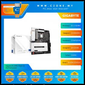 Gigabyte Z590 Vision D Motherboard (Chipset Z590, WiFi+BT, Thunderbolt 4, ATX, Socket 1200)