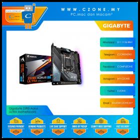 Gigabyte Z590I Aorus ULTRA Motherboard (Chipset Z590I, WiFi+BT, mini-ITX, Socket 1200)
