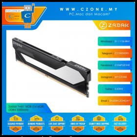 Zadak Twist 16GB (1x16GB) DDR4 3200MHz - Black (ZD4-TWS32C28-16G2B1)