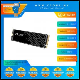 Zadak TWSG3 256B M.2 2280 NVMe Gen4 SSD (R: 3500Mbps, W: 3200Mbps)