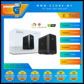 "Zotac ZBOX Magnus One ECM73070C Barebone Mini PC (i7-10700, RTX 3070, DDR4 SODIMM x2, M.2, 2.5"", WiFi, BT)"