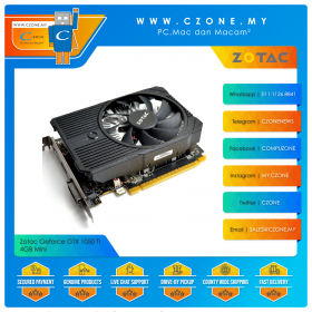 Zotac Geforce GTX 1050 Ti 4GB Mini