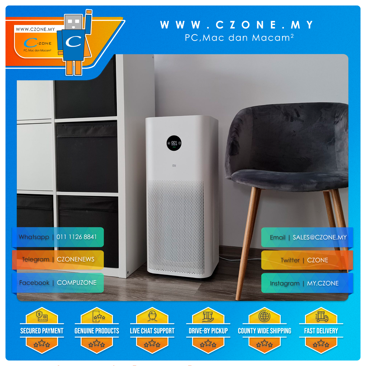 https://czone.my/czone/lifestyle/liftstyle-accessories/humidifiers.html